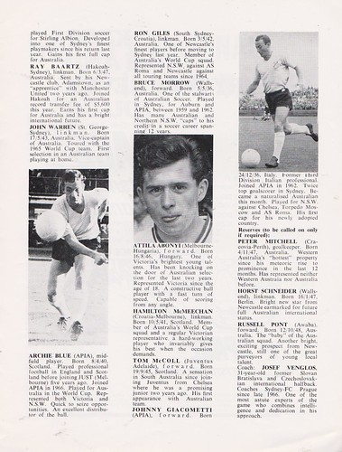 Australia vs Scotland - 1967 - Page 11