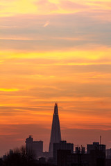 Shard Sunset (2 of 2) (johnlinford) Tags: canoneos7d colour london shard sky sunset