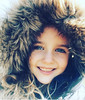 Portrait (Laineyb93) Tags: 7yearsold josie pretty furryhood portrait girl smile winter childportrait iphone photography colour blueeyes grandchild portraiture
