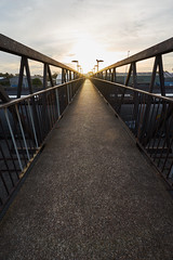 Crossing Over (Stueyman) Tags: sony alpha ilce a7 a7ii newcastle nsw newsouthwales australia au za zeiss sel1635z bridge sun goldenhour