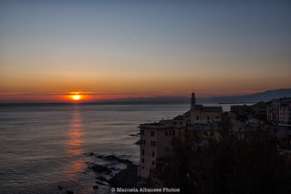 sunset Boccadasse