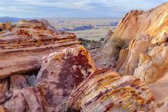 Rainbow rocks over Marble Canyon (Chief Bwana) Tags: az arizona pariaplateau soapcreek rainbowrocks marblecanyon flagstaff grandcanyon sanfranciscopeaks vermilioncliffs navajosandstone psa104 chiefbwana 500views