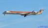 EC-LOX LEMD 15-01-2018 (Burmarrad (Mark) Camenzuli Thank you for the 10.8) Tags: airline iberia regional air nostrum aircraft bombardier crj1000 registration eclox cn 19020 lemd 15012018