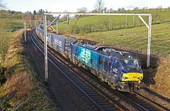 Revolution (DieselDude321) Tags: 88001 class 88 drs direct rail services 4s43 0616 daventry mossend euroterminal lambrigg head cumbria revolution