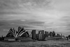 DSC00614 (Damir Govorcin Photography) Tags: clouds blackwhite monochrome harbour opera house buildings circular quay sydney wide angle sony a7ii zeiss 1635mm architecture