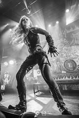 Arch Enemy @ Le Bataclan, Paris   23/01/2018 (Philippe Bareille) Tags: archenemy alissawhitegluz singer frontwoman vocalist melodicdeathmetal deathmetal swedish lebataclan bataclan paris france 2018 music live livemusic show concert gig stage band rock rockband metal heavymetal canon eos 6d canoneos6d musicwavesfr monochrome blackandwhite bw noiretblanc nb