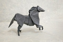 29/365 Horse by Roman Diaz (origami_artist_diego) Tags: origami origamichallenge 365days 365origamichallenge horse cavalo