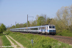 BB26005 sur Corail Strasbourg Lyon vers Ambronay (philippedreyer1) Tags: