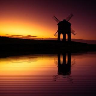 Windmill Reflections