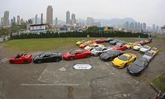 Ferrari / Porsche / Lamborghini / Nissan / Mercedes-Benz, Kai Tak, Hong Kong (Daryl Chapman Photography) Tags: middleroadclub hongkong china sar canon ferrari porsche mercedesbenz lamborghini 458 458spider speciale 599gtb huracan 430 16m nissan gtr 5d mkiii 15mm scuderia f12 996 997 996turbo 911 car cars auto autos automobile automobiles carspotting carphotography brabus g700 amg g63