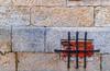 Security (37/365) (Walimai.photo) Tags: ciudadrodrigo miróbriga salamanca españa spain window ventana ladrillo brick piedra stone reja metal nikon 35mm d7000 nikkor detail detalle