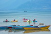 Kayaking-Fewa Lake!! (MaHoSha) Tags: kayaking lakefewa pokhara nepal