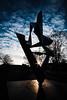 Star (Snipy79) Tags: fuji xpro2 samyang 12mm stuttgart staatstheater skulptur street sunstar