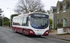 Lothian 134 in South Queensferry. (calderwoodroy) Tags: wrightbus b7rle volvo sn55bju 134 edinburghtransport transportforedinburgh lothianbuses singledecker bus southqueensferry queensferry edinburgh scotland