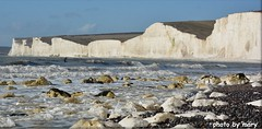 Seven Sisters,Sussex (maryimackins) Tags: seven sisters sussex sea scape mary mackins surfing