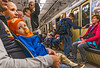 Night Riders (fotofrysk) Tags: subway underground riders passengers men women baby soother easterneuropetrip hungary budapest sigmaex1020mmf456dchs nikond7100 201709308626