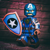 The Rebel Patriot (jezbags) Tags: rebel patriot captain america marvel marvelstudios legomarvel lego legos toy toys shield avengers macro macrophotography macrodreams macrolego canon canon80d 80d 100mm closeup upclose wall