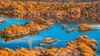 Kayakers in Watson Lake (The Happy Traveller) Tags: watsonlake prescott arizona lake