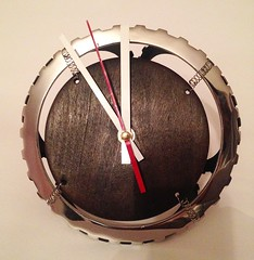 Hand made industrial table clock Pride&Joy (PrideandJoy.Workshop) Tags: craft loft homew metal industrial tableclock clock