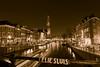 Leliesluis (johan wieland) Tags: prinsengracht amsterdam avond jordaan nacht leliegracht leliesluis