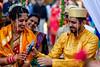 GSCF6247 (Deepak Kaw) Tags: marriage bride bridegroom india composition colours culture tradition fujifilm people portrait bokeh