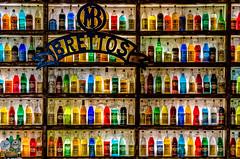 War Of Colours (drasphotography) Tags: war of colours athens athen greece bottles flaschen colourful drasphotography d7k travel travelphotography reise reisefotografie bar alcohol alkohol nightlife rack storage