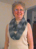 Infinity Scarf - shades of grey (cater it simple) Tags: yarn crochet infinity scarf grey gray