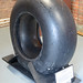Mainwheel tyre from Messerschmitt Bf110 – Bamburgh Castle.