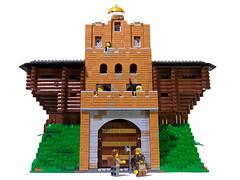 Golden Gate - Kyiv, Ukraine (lce2bu) Tags: lego middle ages castle moc gate ukrbricks