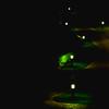 Cheminement (Pi-F) Tags: chemin nuit jardin éclairage vert s parcours sinueux lampadaire lumière lampe géométrie