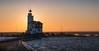 "In golden light (Ralph Rozema) Tags: markermeer ""paardvanmarken"" marken lighthouse holanda netherlands ijsselmeer breakthroughfilter"