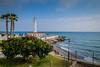 Torrox Costa lighthous in Spain (Finn-b hansen) Tags: costa lighthouse mediteranian sea spain sun torrox coast