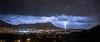 Night Show (AzurTones_Photography) Tags: orage toulon var paca lightning storm thunder faron mont montagne landscape city amazing night light rain wind france canon
