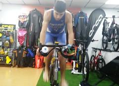 Richi Clavería triatlón Indoor team clavería triatlón World 1
