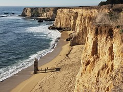 Davenport Beach (moonjazz) Tags: california beach nature cliffs photography northern devenport coast geology geography spectacular vista travel highway1 santacruz pacificocean wild erosion color surf tides daytrip moonjazz best
