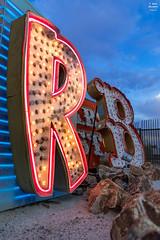 R&B (Tobias Neubert Photography) Tags: neonmuseum neonboneyard neonschild neonreklame neonsign rb rnb r b lasvegas lasvegasstrip casino casinos usa