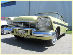 Plymouth Belvedere, 1957 (v8dub) Tags: plymouth belvedere 1957 schweiz suisse switzerland langenthal american pkw voiture car wagen worldcars auto automobile automotive old oldtimer oldcar klassik classic collector