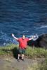 Embrace The Wind (wyojones) Tags: hawaii hawaiian southernmostpoint kalae kauregion southpoint southcape cliffs waves pacificocean sea rocks basalt david pose family