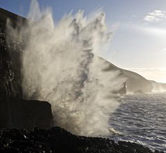 It only takes a  moment (pauldunn52) Tags: ogmore by sea deeps cliffs sotherndown glamorgan heritage coast wales spray wave crashing explosion