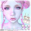 [ bubble ] Pearly Snowman Earrings (::: insanya ::: & [ bubble ]) Tags: secondlife bubble originalmesh accessories earrings pearls mesh hud exclusive theseasonsstory