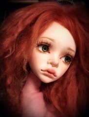 Doll in Mind Lalia head (lil_broken_dolly) Tags: bjd abjd dollinmind dim lalia doll floatinghead