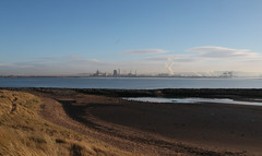 River Tees from North Gare (martin97uk) Tags: seaton carew hartlepool tees county durham england uk sea