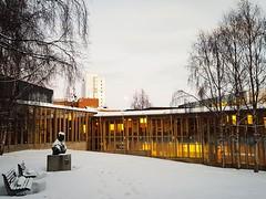 University Campus (narnejo) Tags: universityoftromso tromsø tromso universitetetitromsø gandhi