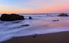 Blue to Pink (JohnLazo19) Tags: beach california canon5dmarkiv coast elmatador longexposure morning ocean pch rocks sun sunrise water
