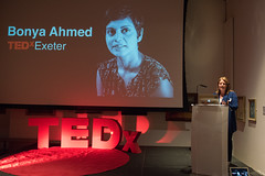 TEDxExeter organiser Claire Kennedy introdusing the speakers at the TEDxExeter 2018 launch event at Royal Albert Memorial Museum (TEDxExeter) Tags: exeter tedxexeter tedx tedtalks exetercity devon ramm royalalbertmemorialmuseum technology entertainment design innovation speakers audience tedxexeter2018 tedxexeter2018launch tedxexeterlaunch sponsors crowd 2018 england eng