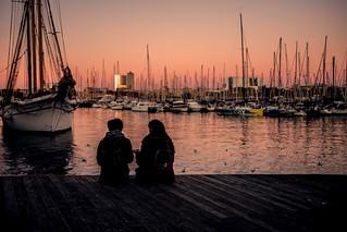 Harbour sunset....