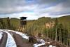 Hochsitz (sonjaheinzmann) Tags: blackforest baumstamm schwarzwald trees weg wolken clouds winter bäume