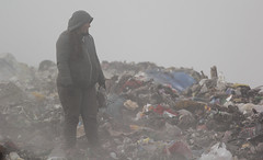 Working on a rubbish dump (merijnloeve) Tags: working rubbish dump ruse roese