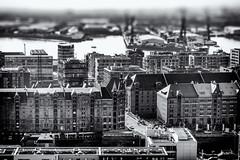 Hamburg (michael_hamburg69) Tags: hamburg germany deutschland view overview aussucht viewpoint observationdeck hopfenmarkt stnikolai 76meter aussichtsplattform stnicholaschurch speicherstadt hafencity monochrome
