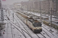 252 (firedmanager) Tags: renfe renfeoperadora railtransport tren train trena ferrocarril trenhotel 252 siemens vitoria locomotora locomotive talgo surexpreso